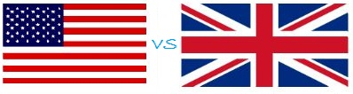British vs american words