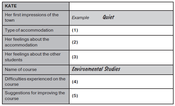 IELTS Listening Sample 3 image 1