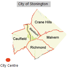 GT Reading - Map of Stonington City