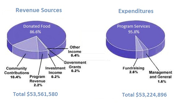 Children's charity in the USA - revenue and expenditure